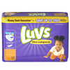 Save $1.00 on ONE BAG Luvs Diapers (excludes trial/travel size).