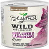 Save $1.00 on FOUR (4) Purina® Beyond® Wild wet dog food cans, any variety or...