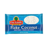 Save $0.30 on one (1) Our Family Coconut (14 oz.)