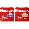 Save $1.00 on any ONE (1) package of HUGGIES® Diapers  (Not valid on 9 ct. or les...