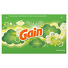 Save $1.00 Save $1.00 on ONE Gain Dryer Sheets 105 ct or larger (excludes Flings, Liquid Detergent and trial/trave...