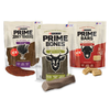 SAVE $1.50 on ONE (1) 5 oz or larger package of Prime® Dog Treats