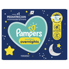 Save $3.00 on ONE Super Pack OF Pampers Swaddlers Overnight Diapers.