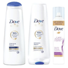 SAVE $1.50 on any TWO (2) Dove Hair Care products (excludes Dove Men+Care and trial a...
