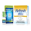 Save $5.00 on ONE (1) Refresh Relieva or Refresh Optive Mega-3 Eye Drop (excludes Ref...