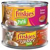 Save $1.00 on TWENTY-FOUR (24) Friskies® Wet Cat Food cans, any variety (5.5 oz.)...