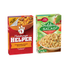 Save $1.00 when you buy FOUR PACKAGES any flavor/variety Helper™, Betty Crocker...