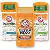 Save $0.50 on any ONE (1) ARM & HAMMER™ Ultra Max™ or Essentials&trad...