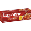 Save $0.75 $.75 OFF ONE (1) LUZIANNE FAMILY SIZE TEA BAGS SEE UPC LISTING