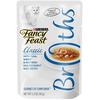 SAVE $2.25 on twelve (12) 1.4 oz pouches of Fancy Feast® Broths Wet Cat Complemen...