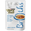 SAVE $2.25 on twelve (12) 1.4 oz pouches of Fancy Feast® Broths Wet Cat Complemen...