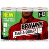 Save $1.50 on ONE (1) Brawny® Paper Towels package, any variety (6 Roll Tear-A-Sq...