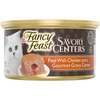 Save $1.00 on six (6) 3 oz cans of Fancy Feast® Savory Centers Wet Cat Food, any...