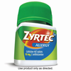 Save $4.00 when you buy ONE (1) Adult ZYRTEC® product, any variety (24-45ct). Exc...