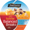 Save $0.75 on any ONE (1) Sargento® Sunrise Balanced Breaks Snack