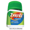 Save $4.00 Save $4.00 on ONE (1) Adult ZYRTEC® product, any variety 24-45ct (Excludes trial & travel sizes)