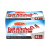 Save $1.00 on one (1) Our Family Tall Kitchen Trash Bags (28 or 80 ct.)