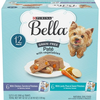Save $4.00 on one (1) 3.5 oz 12 ct Variety Pack of Purina® Bella® Wet Dog Foo...