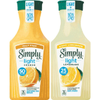 Save $0.75 on Simply® Light Orange or Lemonade when you buy ONE (1) carafe of Sim...