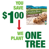 Save $1.00 on one (1) Cascadian Farms Granola Bars