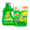 Save $1.00 on ONE Gain Flings 12 ct to 26 ct OR Gain Liquid Laundry Detergent (Includ...