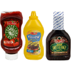Save $0.50 on one (1) Our Family BBQ Sauce, Ketchup or Mustard