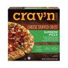 Save $1.00 on two (2) Crav'n Stuffed Crust or Rising Crust Pizza (12.8-32.7 oz.)