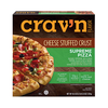 Save $1.00 on two (2) Crav'n Stuffed Crust or Rising Crust Pizza (12.8-32.7 oz.)