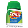 Save $1.00 Save $1.00 on ONE (1) Adult ZYRTEC® product, any variety 12-14ct  (Excludes trial & travel sizes)