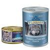 Save $1.00 on any TWO (2) cans of BLUE Wilderness wet dog or cat food