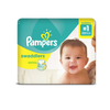 Save $3.00 on ONE Pampers Swaddlers, Cruisers OR Baby Dry Diapers (excludes trial/tra...