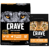 Save $3.00 on CRAVE™ Dog or Cat Food when you buy ONE (1) bag of CRAVE™ D...