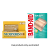 SAVE $1.00 on any ONE (1) BAND-AID® Brand Adhesive Bandages or NEOSPORIN® pro...