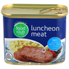 Save $0.50 $.50 OFF ONE(1) FOOD CLUB CANNED LUNCHEON MEAT 12 OZ