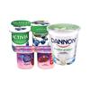 Save $1.00 on one (1) Dannon Family Yogurt (4 or 6 pks., non greek) or Regular Quartz...