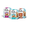 Save $1.50 on four (4) 3.5 oz trays of Purina® Bella® Wet Dog Food, any varie...