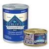 Save $1.00 on any THREE (3) cans of Blue Buffalo wet dog or cat food