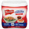 Save $0.50 $.50 OFF ONE (1) FRENCH'S CRISPY FRIED ONIONS 6 OZ. SEE UPC LISTING