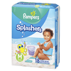 Save $4.00 on TWO BAGS Pampers Splashers Diapers (excludes trial/travel size).