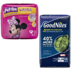 Save $1.00 on PULL-UPS® or GOODNITES® Nighttime Pants or Bed Mats when you bu...