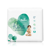 Save $3.00 on ONE BOX Pampers Pure Diapers (excludes trial/travel size).