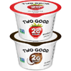 Save $0.50 on 2 Two Good Yogurt when you buy TWO (2) cups of Two Good Yogurt, any var...