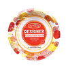 Save $1.00 on two (2) Our Family Designer Paper Plates (24-48 ct.) or Cups (54 ct.)