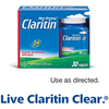 Save $4.00 on Non-Drowsy Claritin® when you buy ONE (1) Non-Drowsy Claritin®...