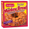 Save $1.00 off ONE (1) package of Bridgford® Cinnamon Pull-Apart Monkey Bread