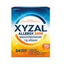 Save $4.00 on ONE (1) XYZAL ALLERGY 24 HR, 10 count