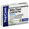 Save $2.00 $2.00 OFF ONE (1) TOP CARE NITETIME COLD FLU CAPLET PE 24 CT
