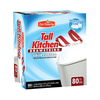 Save $1.00 on one (1) Our Family Tall Kitchen Trash Bags (68 or 80 ct.)