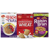 Save $1.00 when you buy TWO (2) varieties of Grape-Nuts®,  Shredded Wheat, or Rai...