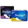 Save $0.75 on Stayfree® Product when you buy ONE (1) Stayfree® Product. Exclu...